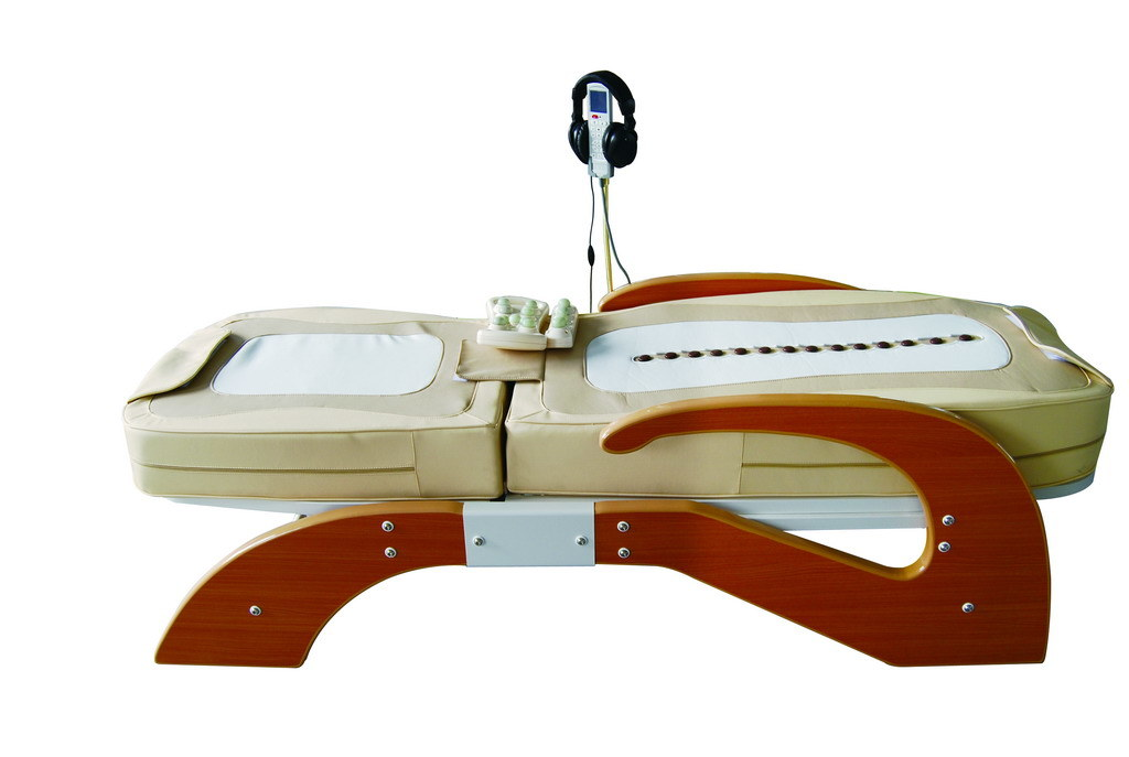 thermal jade massage bed with mp3 005 fm china massage