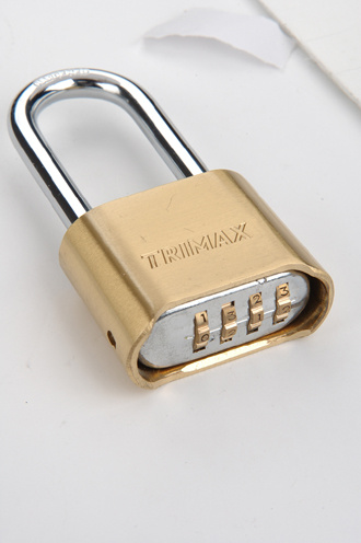 Combination Padlock, Brass Combination Padlock, Padlock (AL-B50)