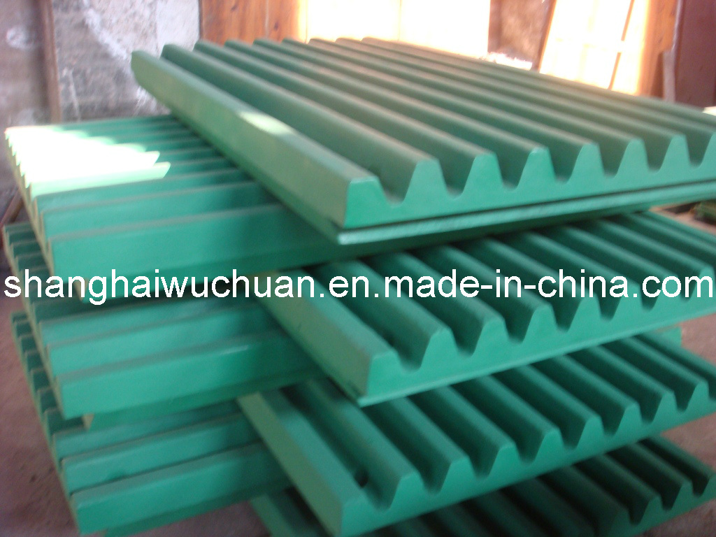 High Manganese Wear Parts Jaw Plate for Jaw Crusher