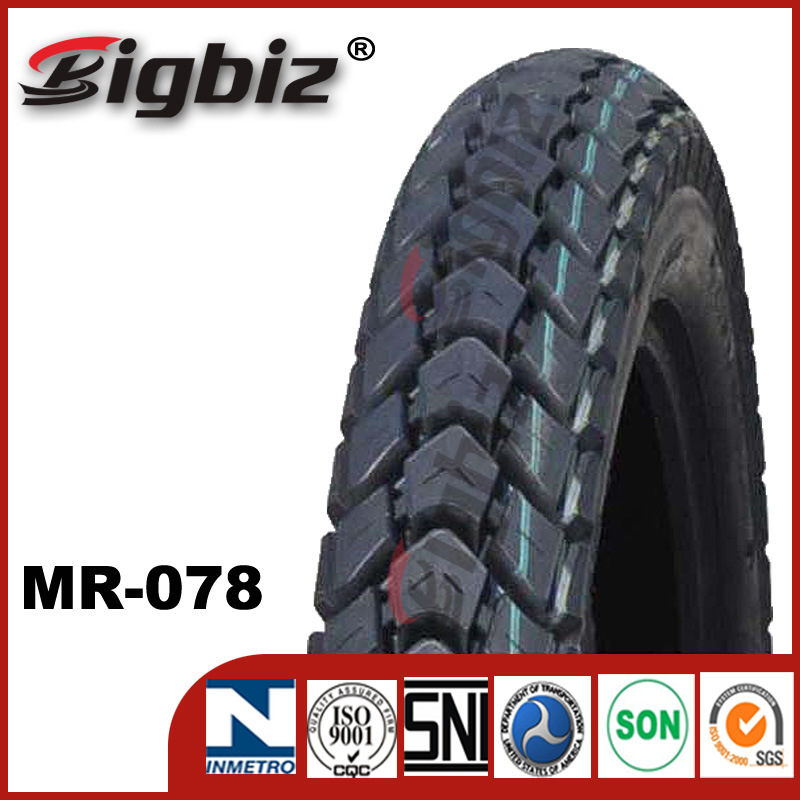 Distribute 3.50-18, 3.00-18 of Ce Certificate Cheap Motorcycle Tires