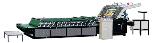 Semi Automatic Flute Laminator for Corrugated Cardboard Sheet