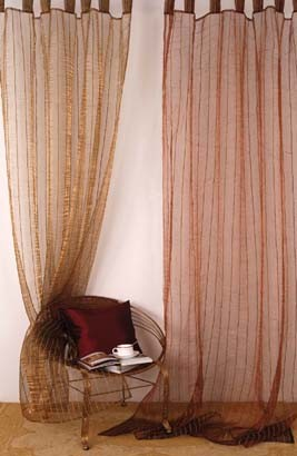 China new trends organza tab top curtain china curtain for Latest trends in curtains