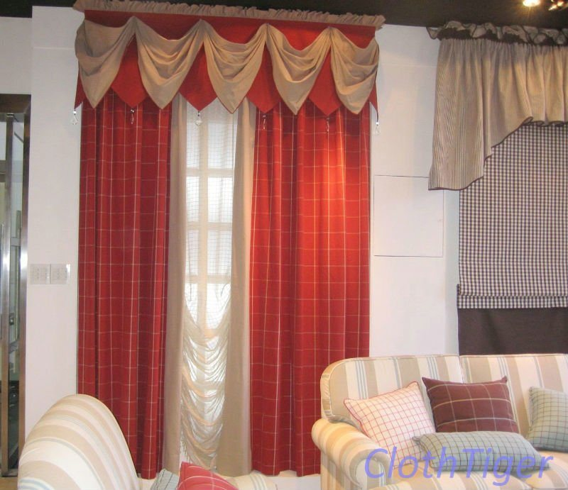 Cotton jacquard curtain design nl1217r
