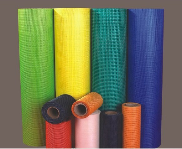 Multi Specifications Fiberglass Mesh ISO9001: 2008 Glass Fiber Scrim for Building