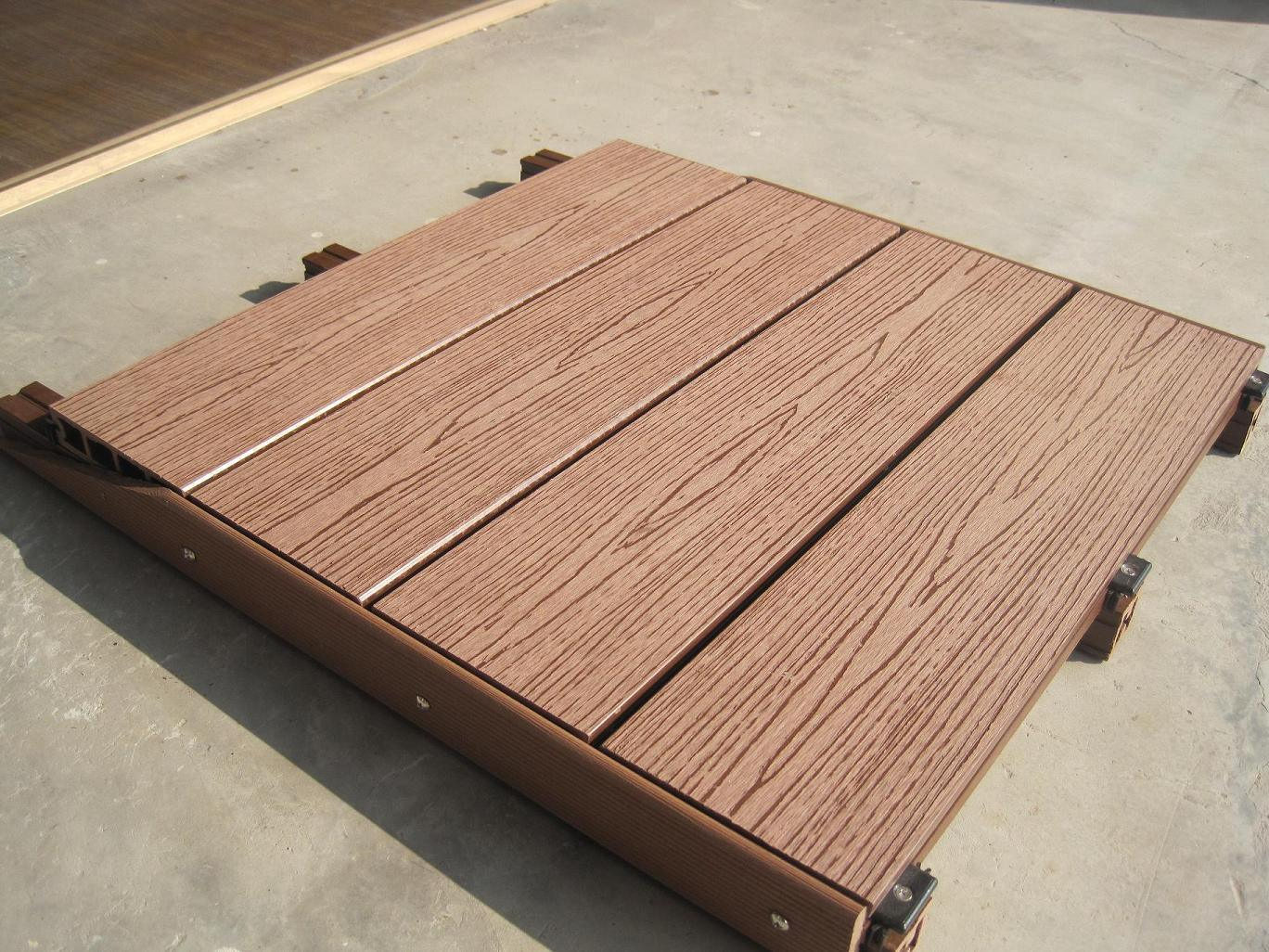 Composite deck boards outdoor wpc decking composite for Hardwood decking boards