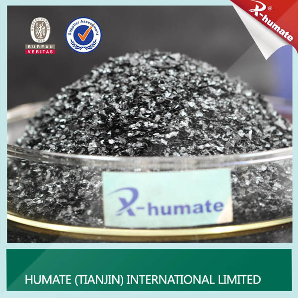 100% Water Soluble Super Potassium Humate From Leonardite