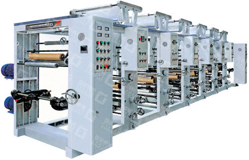 One-to-Eight Color Gravure Plastic Film Printing Machine Unit (GY-AY)