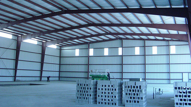 Steel Structure and Portal Framed Warehouse (KXD-SSW5)