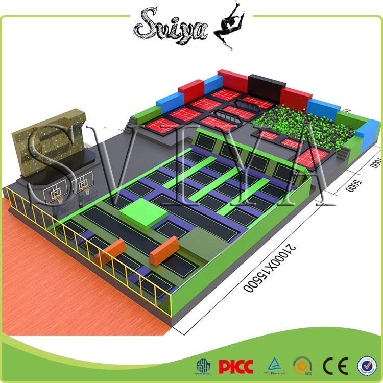 Big Gymnastic Adult Trampoline Park for Sale