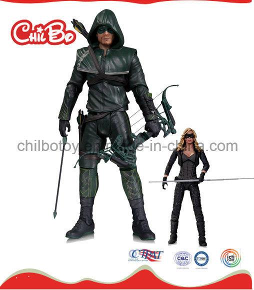 Green Arrow Man Plastic Doll (CB-PD004-S)