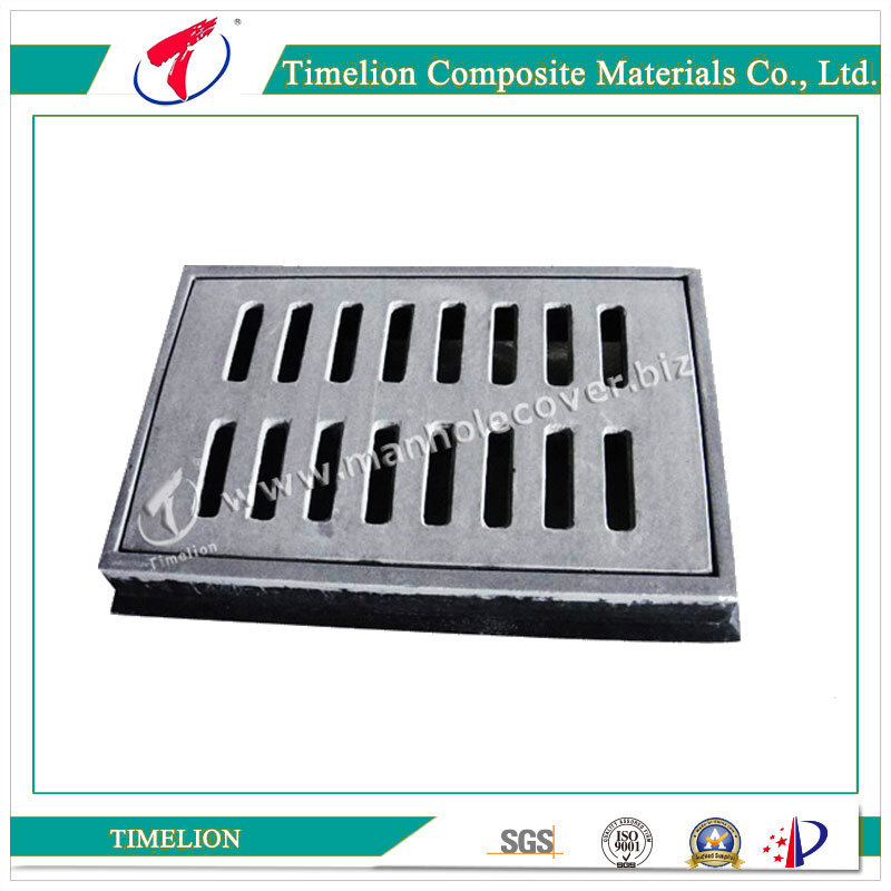 D400 40ton Rectangle SMC Composite Gully Gratings