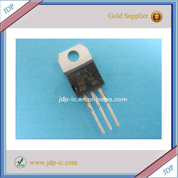 New and Original Mosfet Transistor STP75NF75