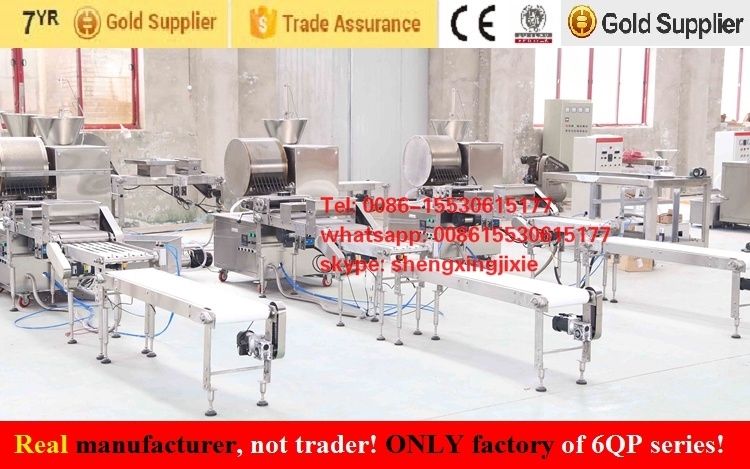 Automatic Spring Roll Sheets Machine/Samosa Pastry Machine/Injera Machine/Crepe Machine (real factory not trader)