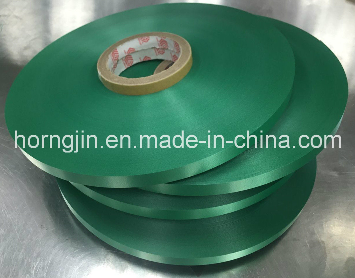 Green PP Foamed Film Tape Mylar Very Anxis Product for Wire&Cable