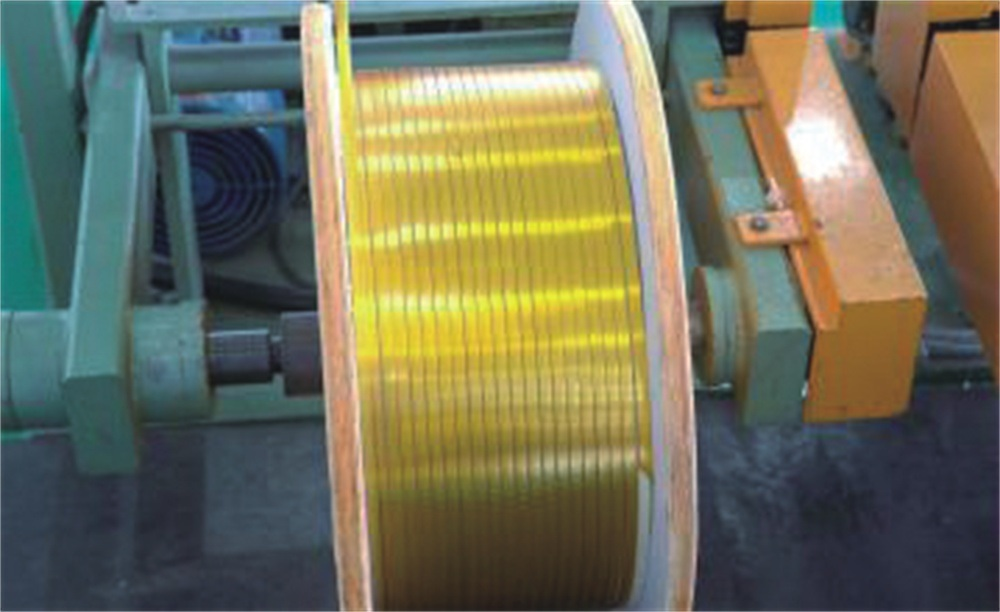 Self-Bonding Glass Covered and Mica Tape Wrapped Rectangular Copper Wire