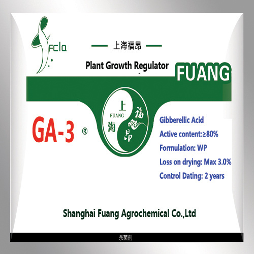 Plant Growth Regulator Hormone Gibberellin Ga3 90% Tc