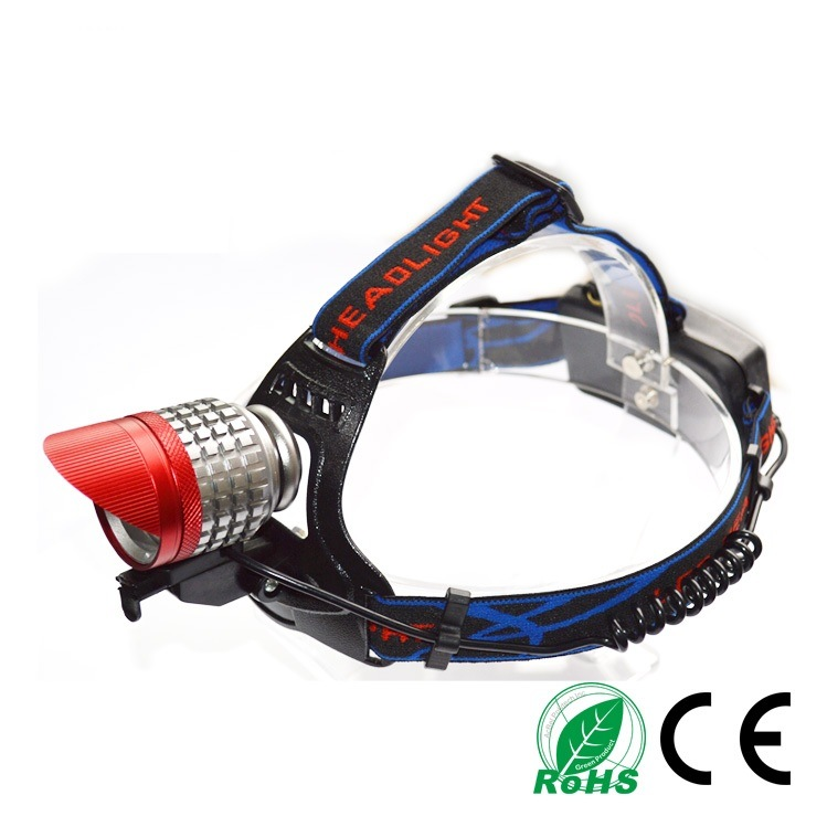 LED CREE T6 1200lm Rechargeable LED Headlight