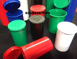 Squeeze Tops Pop Top Container Jiont Lid Pill Vials
