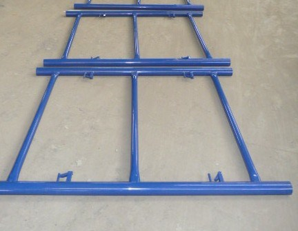 Shoring Frame Scaffolding Pink Powder Coated Canadian Lock High Quality