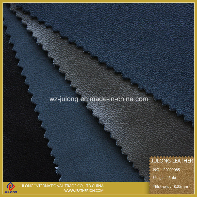 PU Artificial and Synthetic Sofa Leather (SF009)