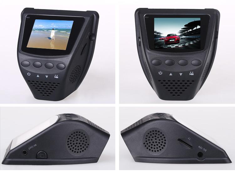 Smart Parking 1080P Car DVR with 24 Hour Record (DVR-902)