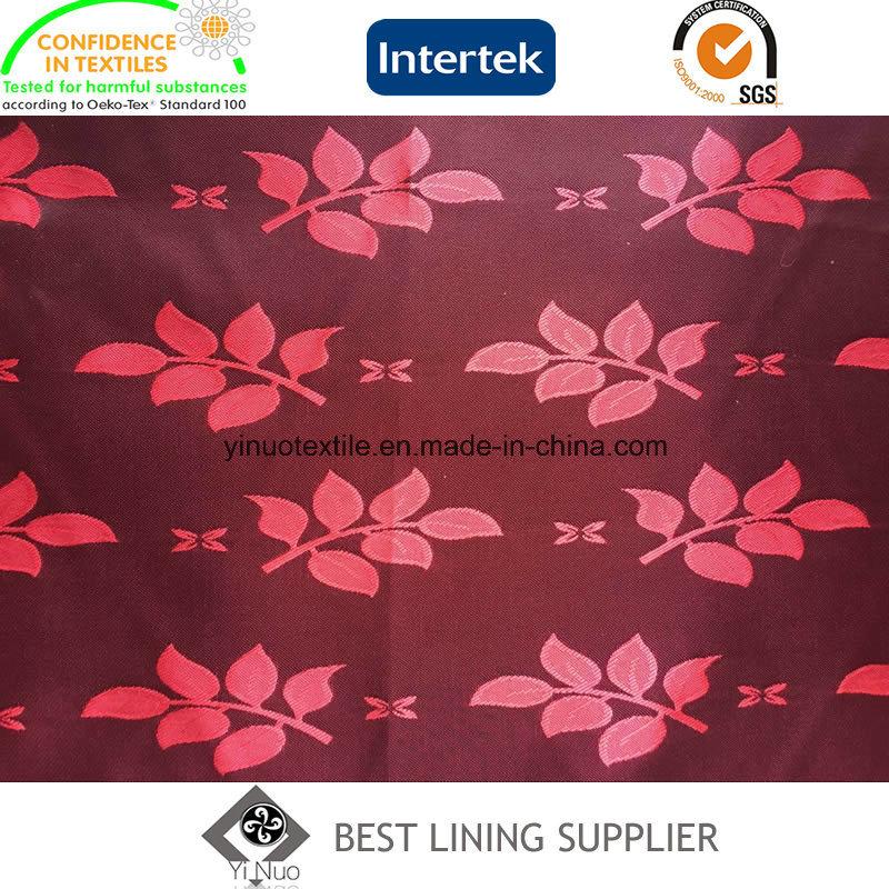 T/R Men′s Suit Jacquard Lining Fabric Supplier