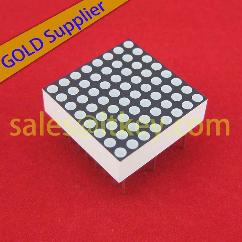 8X8 LED DOT Matrix with RoHS Compliance