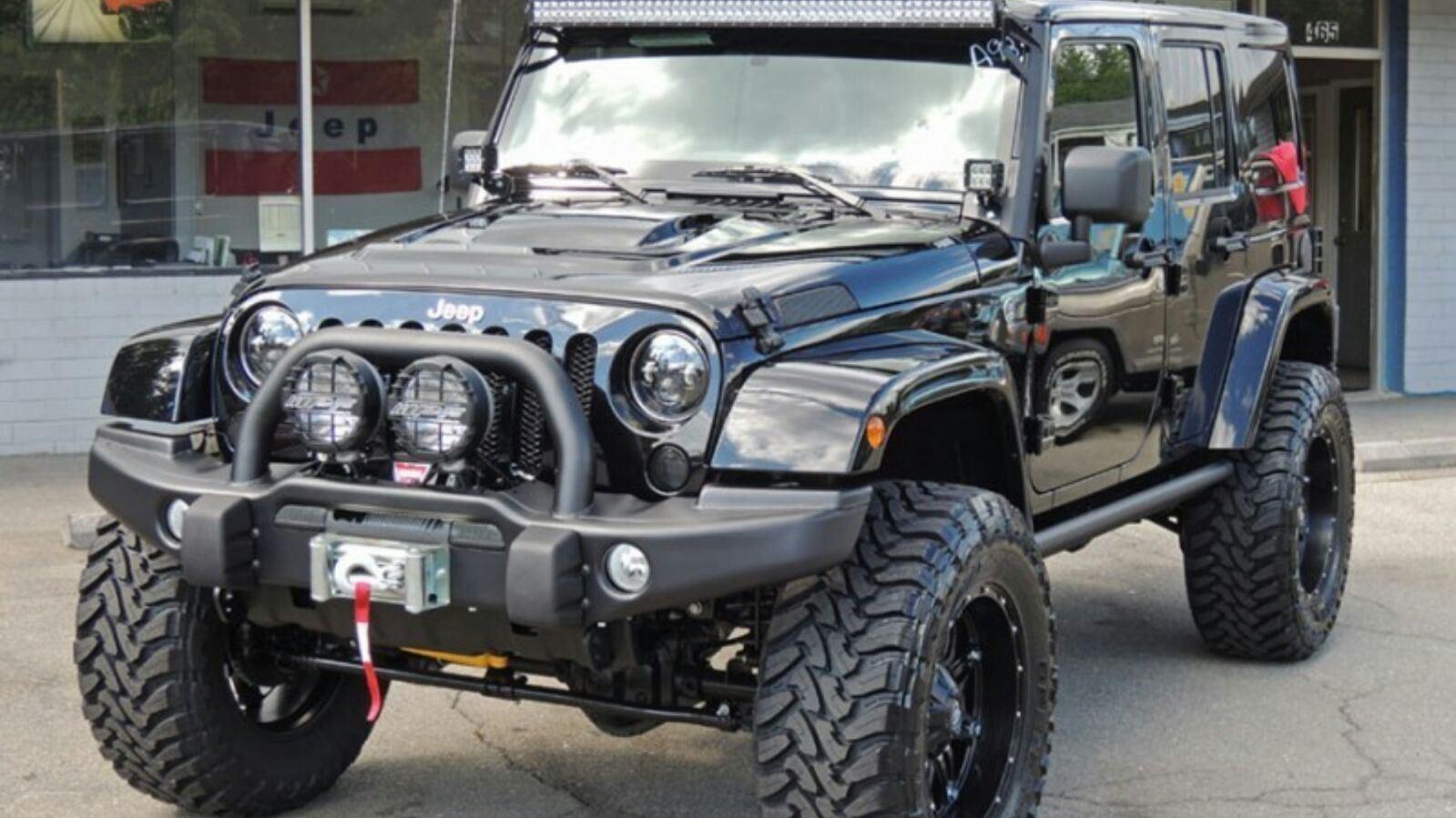 China Aev Front Bumper for Jeep Wrangler Jk Auto Parts ...