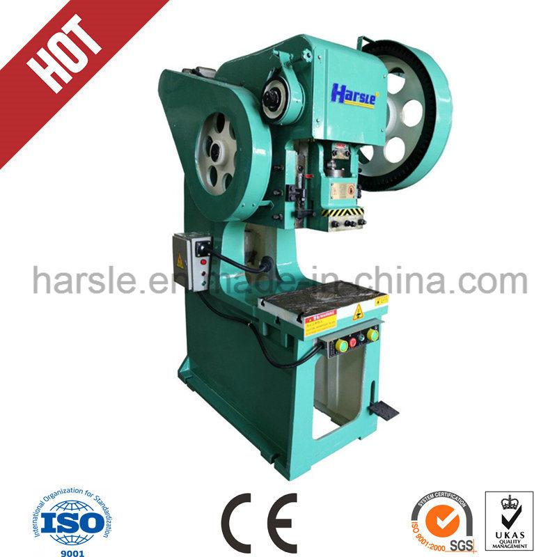 J23 Series Sheet Metal Punching Press Machine or Sheet Metal Hole Punch Machine