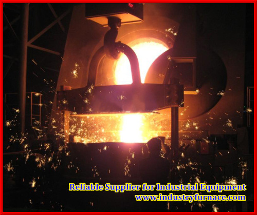 Induction Furnace, Hydraulic Tilting Furnace