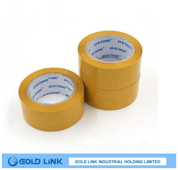 Packing Use Self Adhesive Yellow BOPP Seal Tape