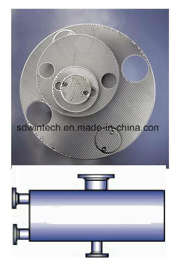 SPS 400 Roundness Plate and Shell Heat Exchanger