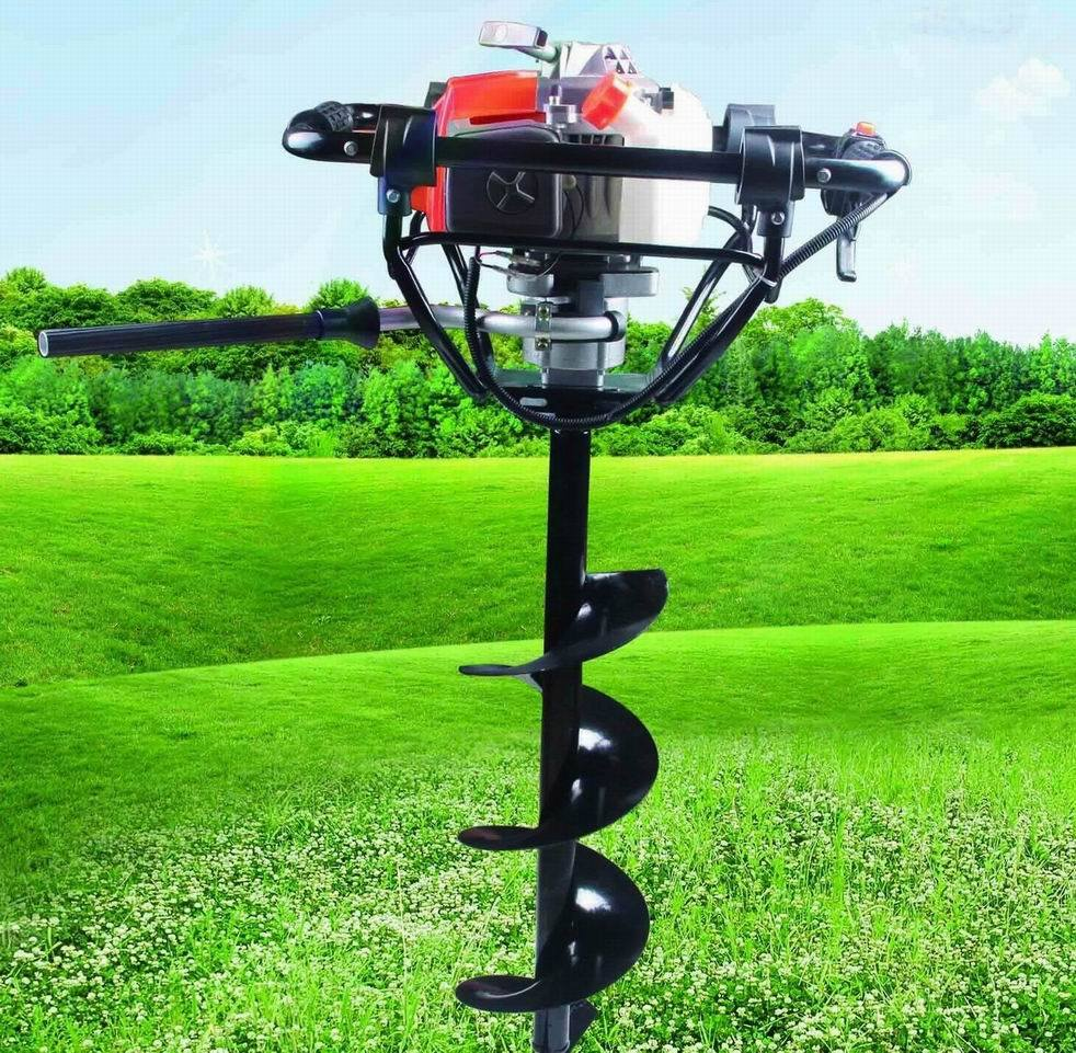 72cc Qucik Stop Earth Auger Hole Drill, The Most Popular Model