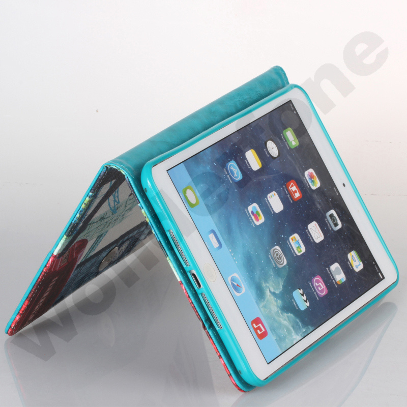 Hot Sell Mobile Phone Leather Case for iPad, Samsung