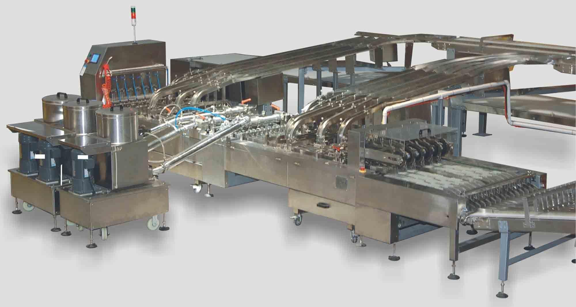 Tsm 621t High Speed Biscuit Sandwiching Machine
