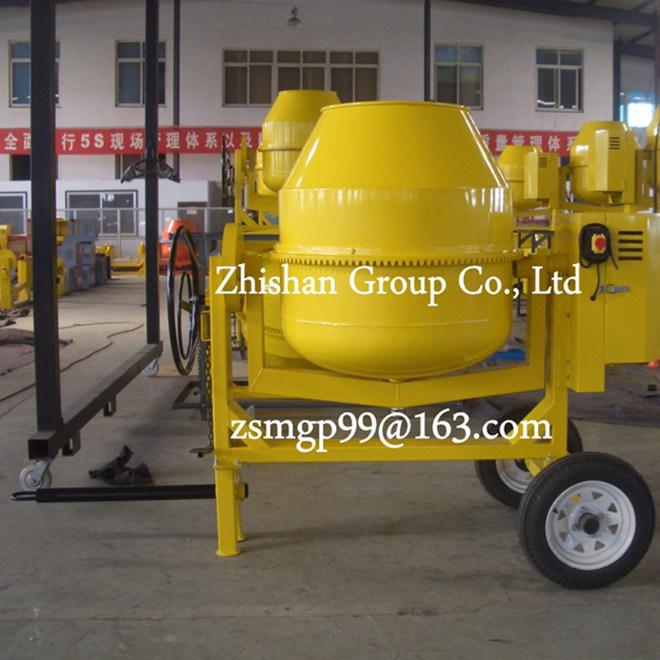 CM600 (CM50-CM800) Zhishan Portable Electric Gasoline Diesel Concrete Mixer