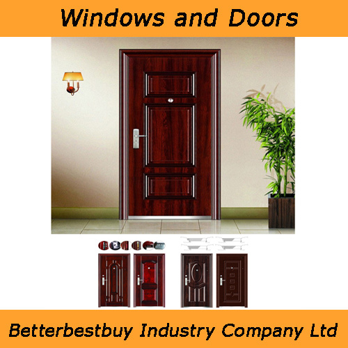 Multi-Design Steel Security Door for Option