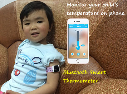 Digital Thermometer with Bluetooth Function