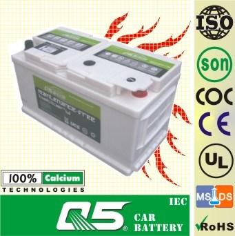 DIN-58827 12V88AH BMW & Benz & Jaguar model for Maintenance Free Car Battery