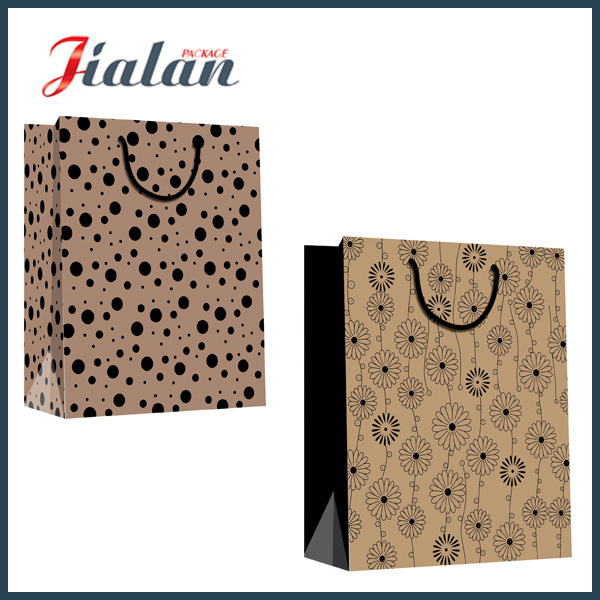 Custom Size Different Design Logo Cheap Printed Paper Garments Bag