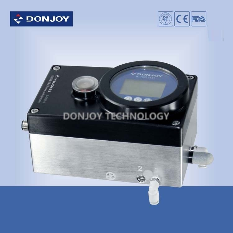 Intelligent Fluid Controller Valve Positioner for Fluid Processing Control