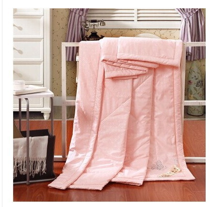 Cotton Silk Summer Cool Thin Quilt, Close Skin Naked Sleep Necessary Quilt