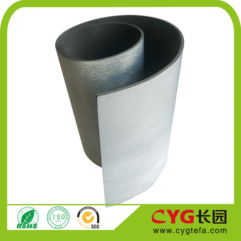 High Temperature Resistance PE Material Recycled Foam with Aluminum Foil