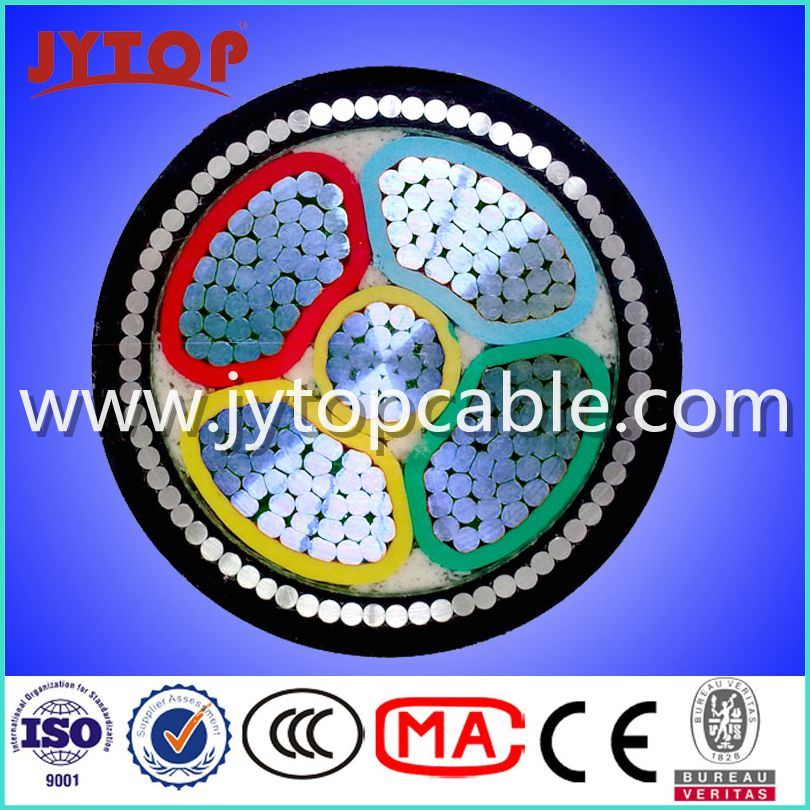 1kv Aluminum Cable, Armoured Cable PVC Power Cable with Ce Certificate