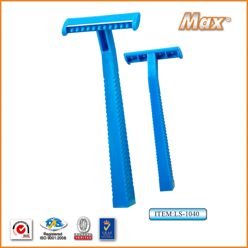 Single Stainless Steel Blade Disposable Razor for Medical (LS-1040)