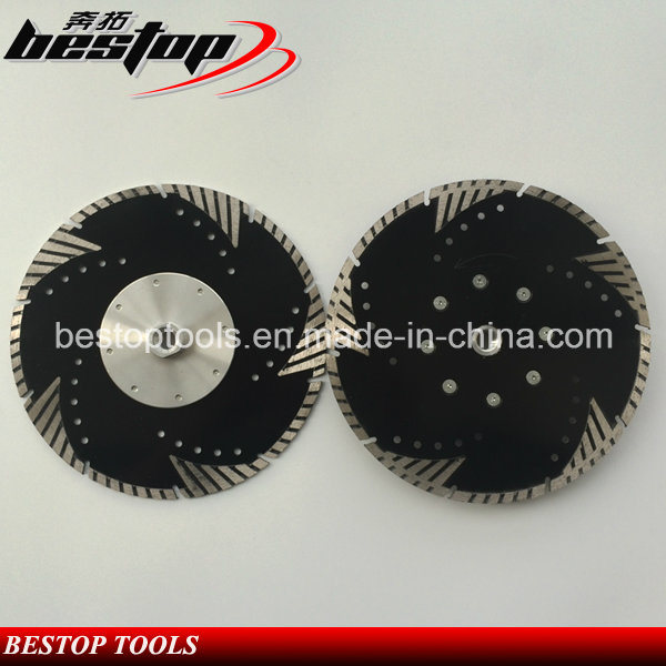 Granite Diamond Cutting Disc with Flange for American Market