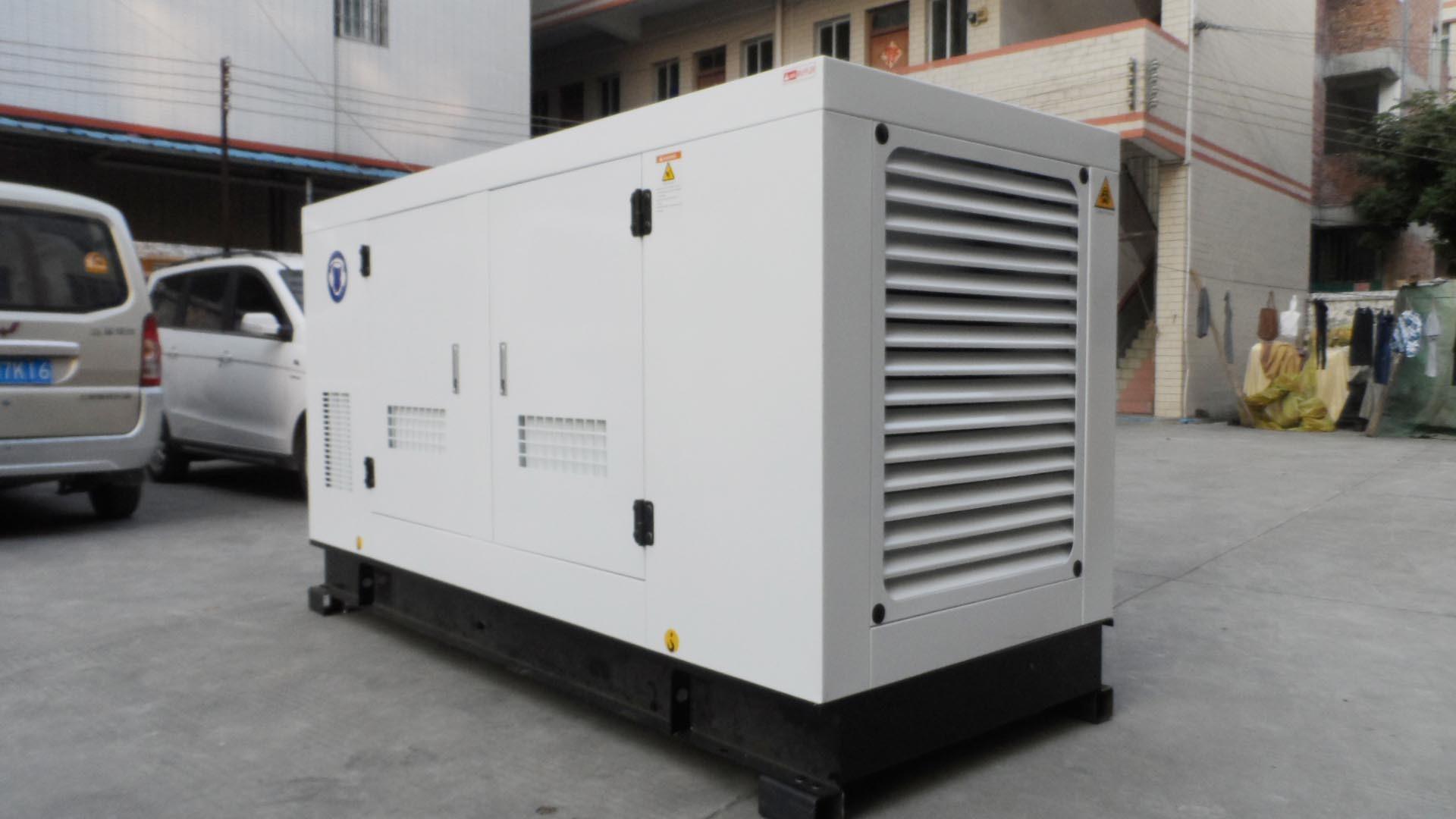 China Cummins 100kVA 80kw Silent Electric Power Diesel Generator
