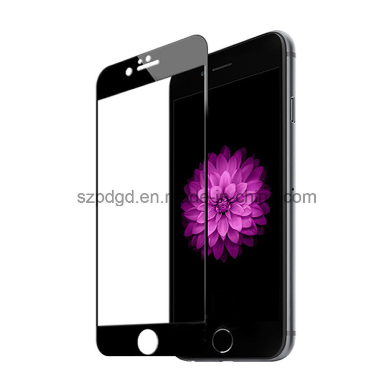 2.5D 9h Tempered Glass Screen Protector Film for iPhone 6 / 6s Plus with PC Plate (SSP)