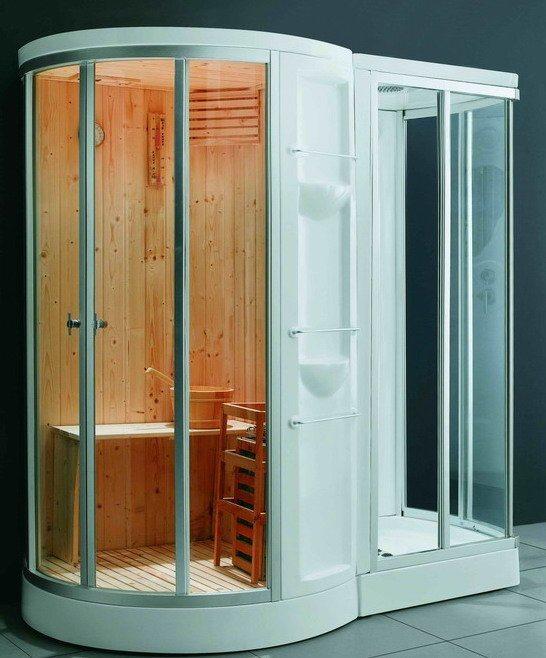 Monalisa Indoor Family Dry Wet Portable Steam Sauna Room M-8252