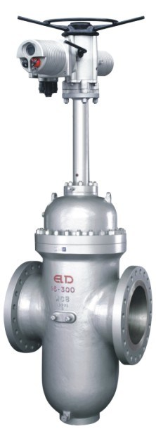 Electric Actuator Parallel Double Disc Gate Valve API